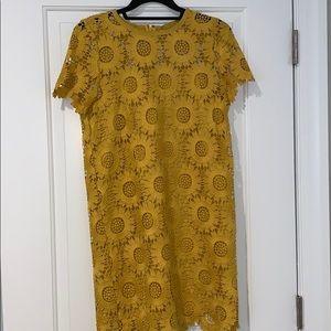 Loft sunflower dress